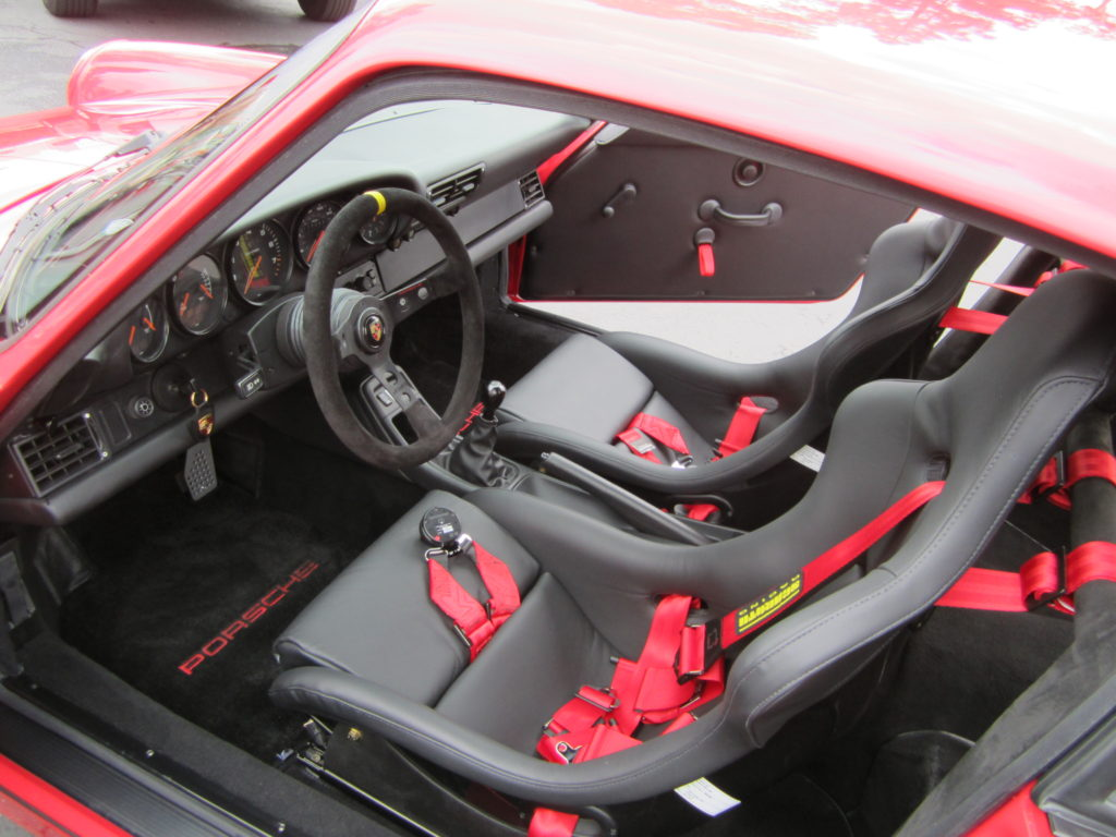 New Schroth® safety harnesses and Recaro™ racing seats were installed to protect the driver in the event of a collision.