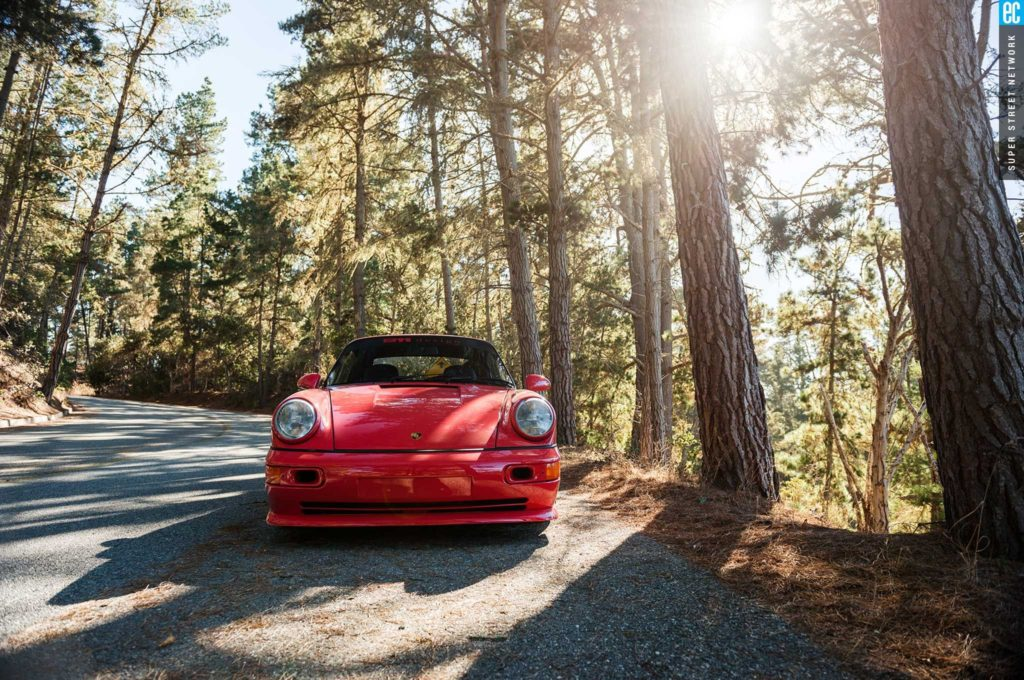 After being completely renovated, this 1989 Porsche 964 makes for an incredible ride through Southern California.