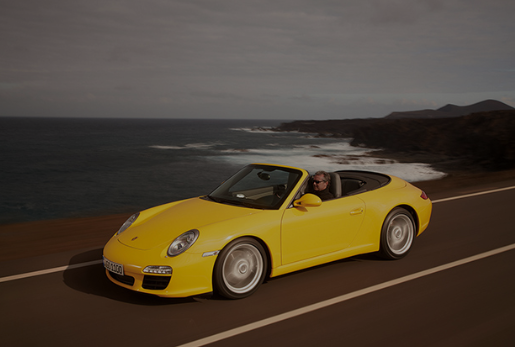 A Porsche® vehicle 997 may be more expensive, but comes with modern features.