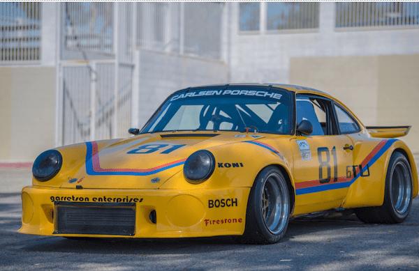 Final restoration of a 1966 Porsche® 911 IMSA