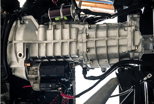 Rebuilt transmission for a 1966 Porsche® 911 IMSA